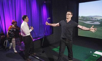 Justin Timberlake and Jimmy Kimmel Compete
