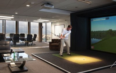 Work Live Play at the Office with Full Swing