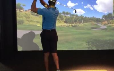 Tiger Woods Golf Simulator