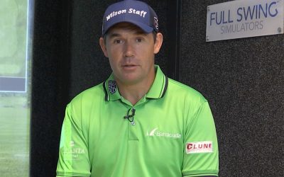 Padraig Harrington Golf Simulator