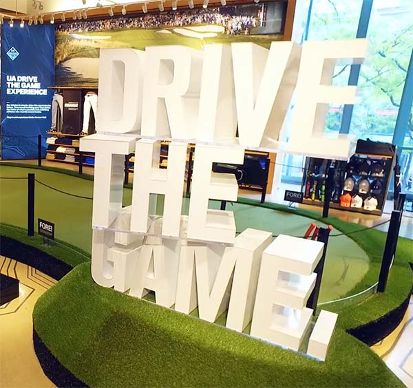 Under Armour Shows Off It's Full Swing Simulator at Flagship Chicago Brand House