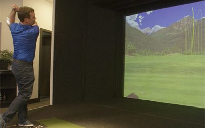 Full Swing golf simulator accuracy and realism: Draw and fade demo.