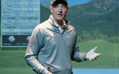 Jim Furyk Talks About Working the Ball in His Full Swing Golf Simulator at Home