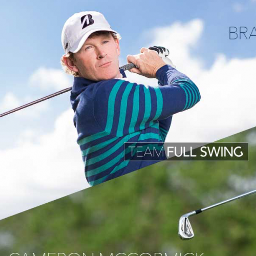 Brandt Snedeker and Cameron McCormick Partner with Full Swing Golf