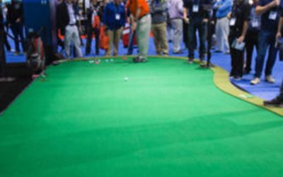 Virtual Green and Puttview at the 2018 PGA Show