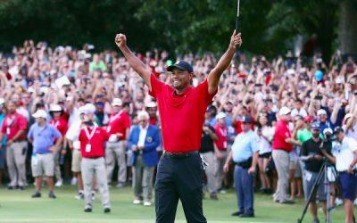 Full Swing Simulators Ambassador Tiger Woods Wins the TOUR Championship