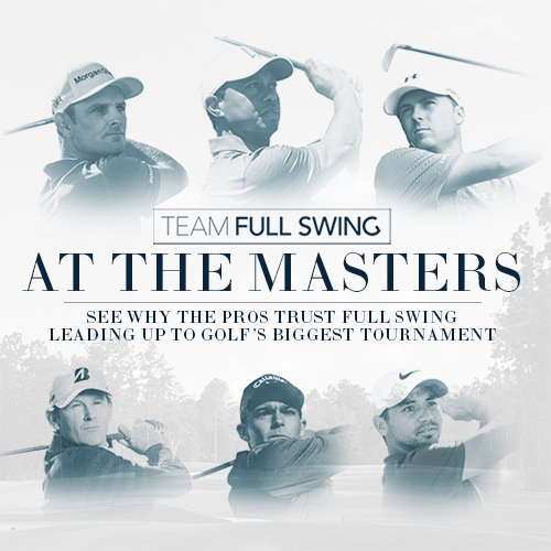 Full Swing Brings Largest Team Yet to The Masters