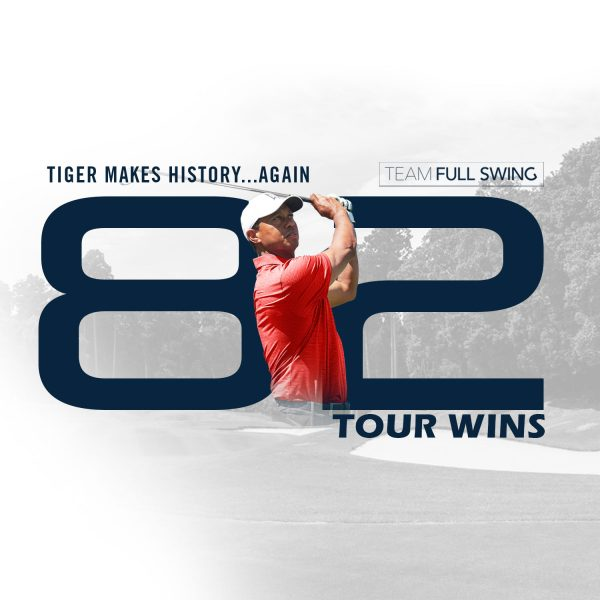 Tiger Woods: 82 Wins And Counting